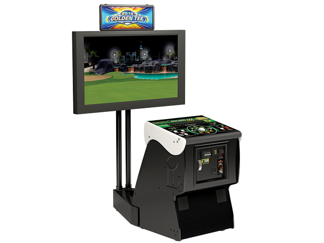 Golden Tee Machine Portrait