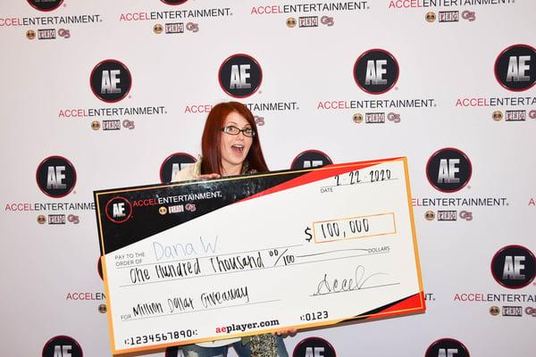 Million Dollar Giveaway Grand Prize Event Winner