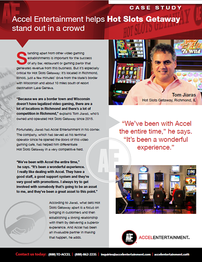 Hot Slots Getaway Case Study Preview