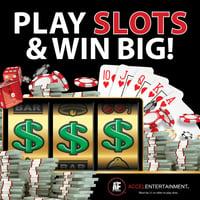 Play slots and win big social media graphic