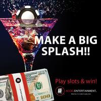 Make a big splash social media graphic