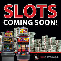 Slots coming soon social media graphic