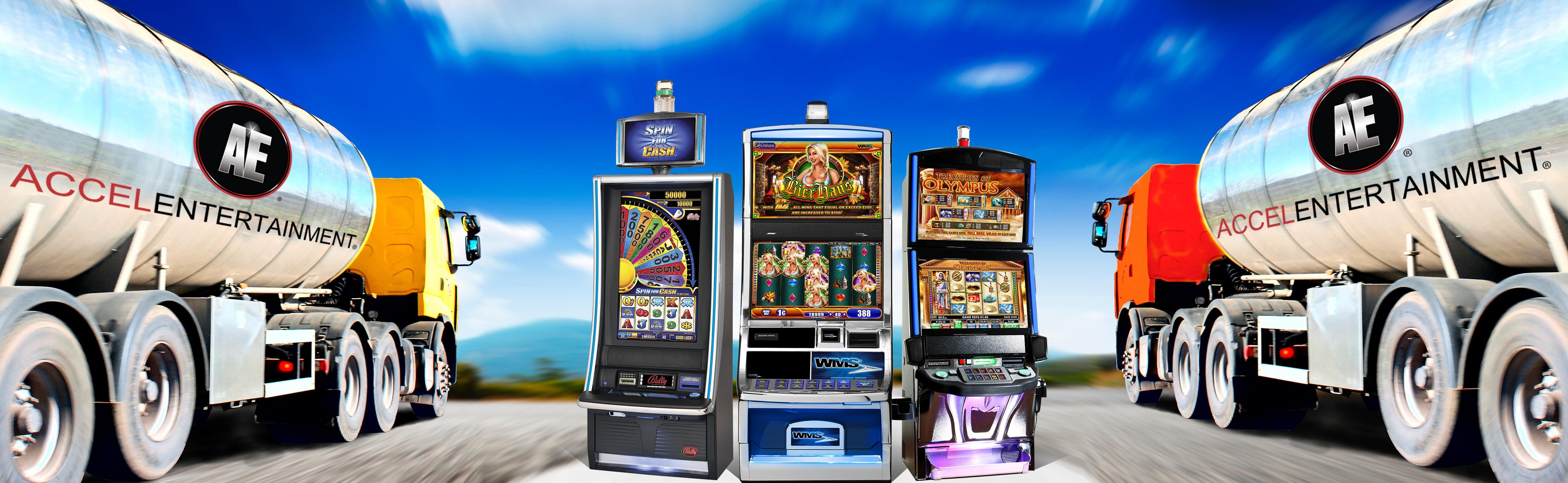 Truck Stop Slot Machines