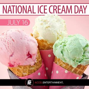 National Ice Cream Day Graphic to Promote Your Business