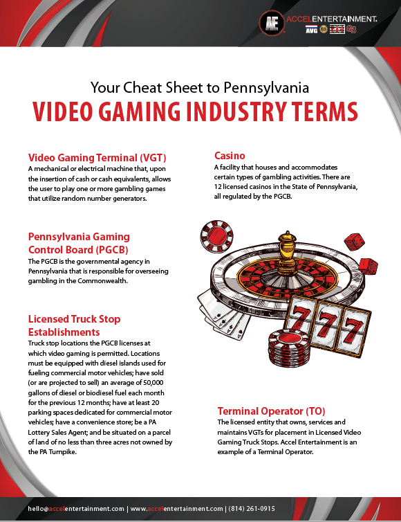 PA Industry Terms Cheat Sheet