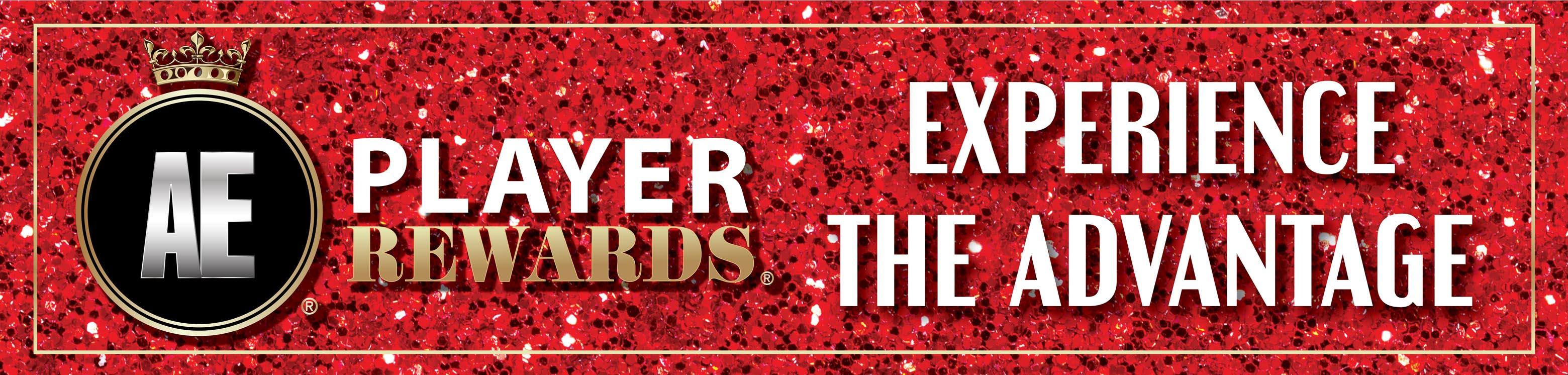AE Player Rewards Website Banner1