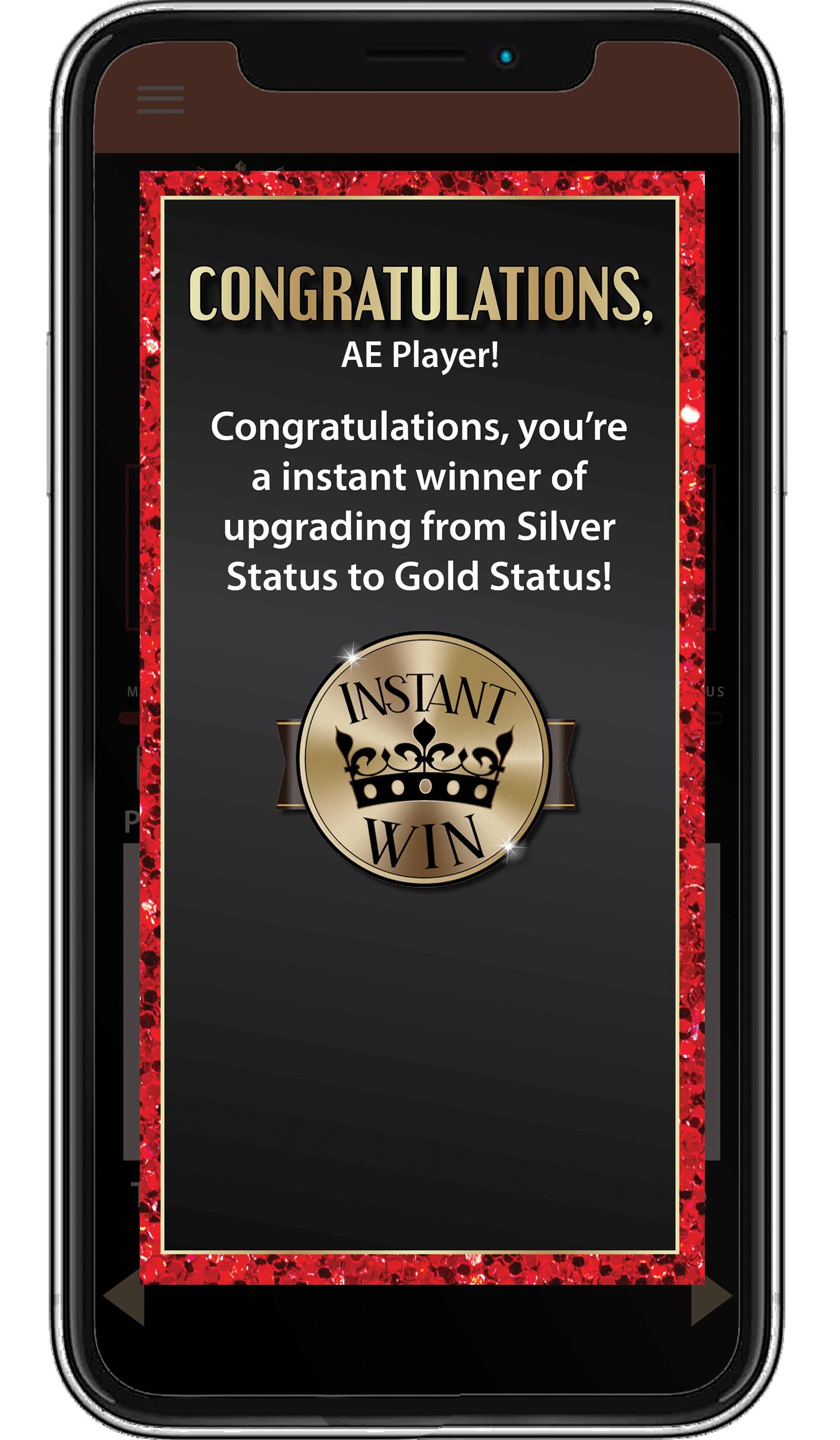 AEPlayer-Rewards-App_Congrats-Screen